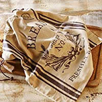 Birkmann Bread bag Freshly Baked, Cotton, Brown, 38 x 45 x 1 cm