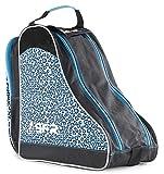 Sfr Skates Designer Ice & Skate Bag - Borse da spiaggia Unisex Adulto, Blu (Blue Leopard), 24x15x45 cm (W x H L)