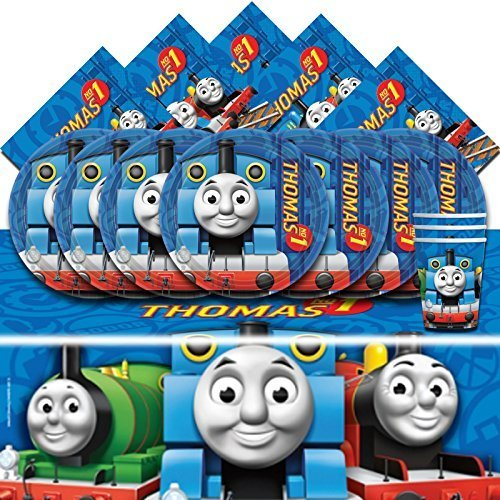 thomas-the-tank-engine-complete-party-supplies-kit-for-16-plates-cups-napkins-tablecover-by-thomas-f