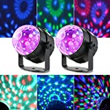 Lixada Bola Discoteca Luces RGB LED Mini Magic Bola...