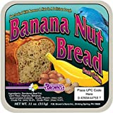 F.M. Brown's Garden Chic Suet and Bread Cakes, 11-1/2-Ounce, Banana Nut Bread