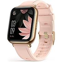 AGPTEK Smartwatch, 1,69 Zoll Armbanduhr mit personalisiertem Bildschirm, Musiksteuerung, Herzfrequenz, Schrittzähler…