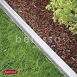 Rasenkante comfort mit Mähkante. 9x118 cm