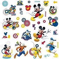 RoomMates Pegatina de pared con diseño de Mickey Mouse Clubhouse - Mickey Mouse Clubhouse Capers Peel and Stick Wall Decals