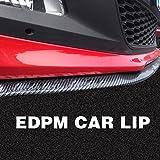 GOGOLO DIY Car Trunk 8.2FT Frontlippe Stoßfänger Spoiler Lippe Protector Rock, 100% wasserdicht Gummi Universal Lip Spoiler für Side Lip & Rear Lip
