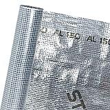 HaGa® Dachfolie Dampfschutzmembran Alu-beschichtet in 1,5m Br. (Meterware)