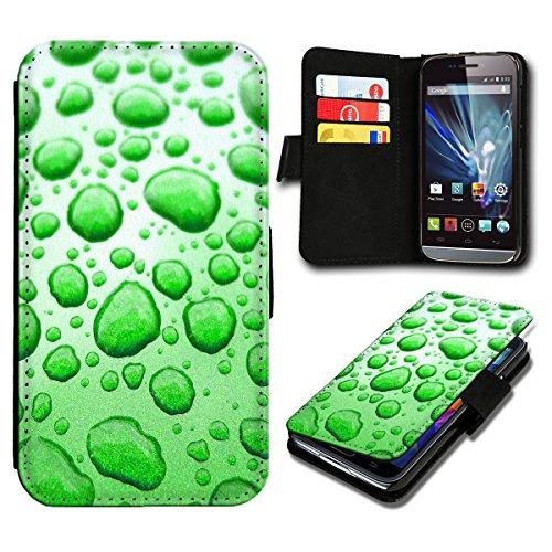 Book Style Wiko Sunset 2 Premium PU-Leder Tasche Flip Brieftasche Handy Hülle mit Kartenfächer für Wiko Sunset 2 - Design Flip SB612