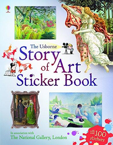 Story of Art Sticker Book (Sticker Books)