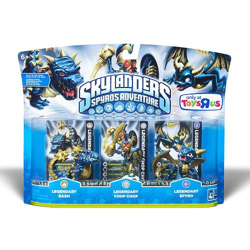 Skylanders Legendary Adventure Pack [Lengendary Bash, Legendary Chop Chop, Legendary Spyro]
