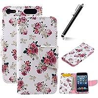 iPod Touch 6 Portafoglio Copertura, Custodia in Pelle Per iPod