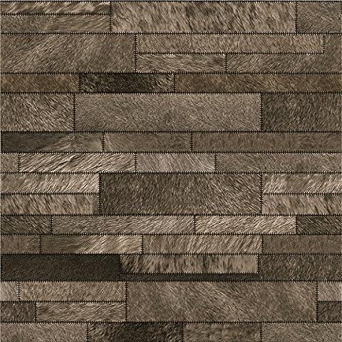 Moderno SWYKAA una finta pelle in PVC di mattoni wallpaper soggiorno parete bar soft pack ristorante ,M1305 Wallpaper