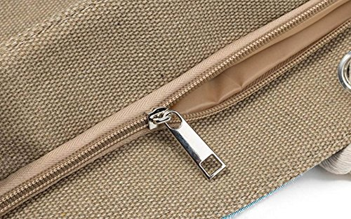 FZHLY Creativo Corda Farfalla Jacquard Canvas Bag,546b 546b
