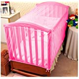 KIDDALE Baby Crib Mosquito Net- Can Also be Used in Cot, Cradle with Breathable Fabric Mesh,Eco-Friendly, Mosquito…