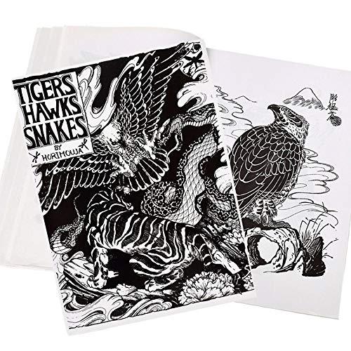 Knossos Attrezzature per Tatuaggi Materiali per Tatuaggi Referenze Libro Manoscritto Sketchbook Body Art Design Pattern - Animali