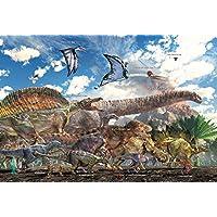 Comparador de precios 1000 compared piece jigsaw puzzle dinosaur size (49x72cm) - precios baratos
