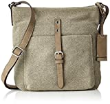ESPRIT Women's 037EA1O035 Hobos and Shoulder Bag, Beige (250 Khaki Beige), 6 x 24 x...