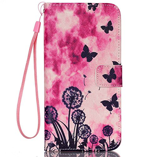 """Nutbro iPhone 6 Plus / iPhone 6S Plus Case, Flip Cover [Stand Feature] with Built-in Credit Card Slots Wallet Case for iPhone 6 Plus (5.5"""") / iPhone 6s PLUS (5.5 inch) 20"""