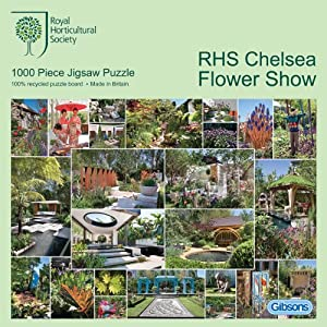 Gibsons RHS - Chelsea Flower Show - Puzzle (1000 Piezas)