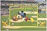 55 ° Anniversario di Disneyland Topolino imperforato foglio di francobolli in miniatura / 2010 / Mali