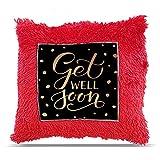 "TIA Creation get well soon Gift Pillow Cushion 16""x16"" - Get well soon-002"
