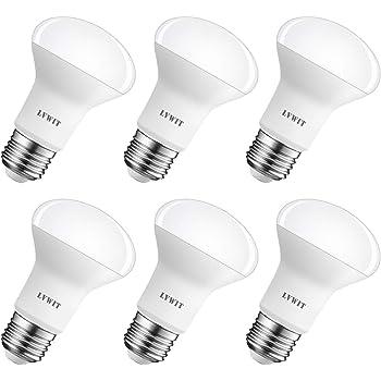LVWIT Bombillas Reflectora LED E27 (Casquillo Gordo) - 6W equivalente a 60W, 550