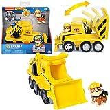 Ultimate Rescue   Auswahl Fahrzeuge mit beweglicher Spiel-Figur   Paw Patrol, Figur:Rubble Bagger