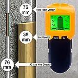 Multifunktions Wand Scanner detektor , Elektrische StudSensor Ortungsgerät für Metall, Rohre,Stromleitung, AC Spannungsführenden Leitungen, Holz , Deep , Sound Warnung