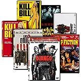 Pack Tarantino: Malditos Bastardos + Django Desencadenado + Jackie Brown + Kill Bill - Volumenes 1 y 2 + Pulp Fiction + Los Odiosos Ocho