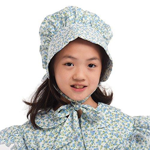 GRACEART Mädchen 100% Baumwolle Pioneer Prairie Bonnets (8 Farben Option) ()