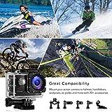 Victure Actioncam Full HD 1080P 12MP 170° Weitwinkel Wasserdichte Aktionkameras Unterwasserkamera Sport Action Camera mit 1050mAh Batterie 20+Kostenlose Zubehör Kits Test