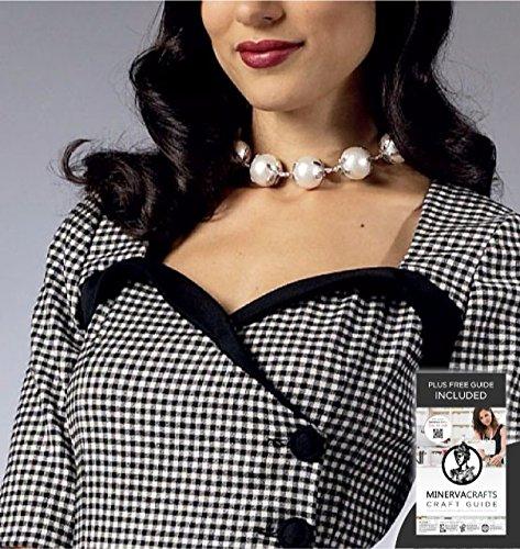 Butterick, Cartamodello per 5953 di Gertie-Cartamodello per vestito da donna, taglie: 40-48