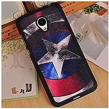 Prevoa ® 丨 Meizu M2 Mini Funda - Colorful Silicona Protictive Carcasa Funda Case para Meizu M2 Mini 5,0 Pantalla Smartphone - 8