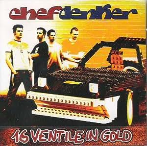 16 Ventile in Gold