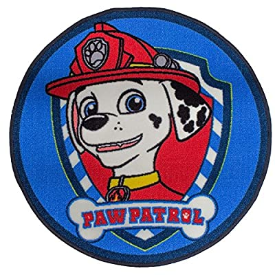 Paw Patrol 'Pawsome' Rug produced by Character World, uk home, CDKH4 - quick delivery from UK.
