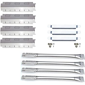 Bar.b.q.s Replacement Charbroil 463420507,463420509 463460708 463460710 Gas Grill Stainless Steel 4pack Burners Porcelain Steel 4pack Heat Plates 3pack Carryover Tubes