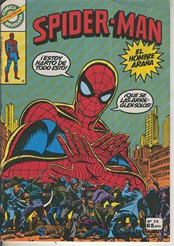 Comics Bruguera: Spiderman numero 26
