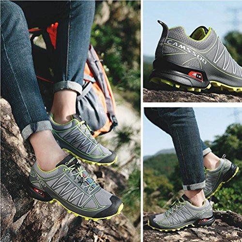 Chaussures de randonnée pour hommes / femmes été et automne chaussures de sport en plein air pour randonnée alpinisme respirant léger et antidérapant deep blue