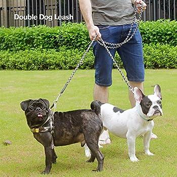 Peteast Multifunktions-hundeleine, Reflektierende 8.3ft Lange Hundetraining Und Walking Leine Für Kleine, Mittlere Und Große Hunde 5