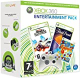 Xbox 360 - Burnout Paradise Ultimate, Trivial Pursuit, Connect 4 Arcade + Wireless Controller, weiß [UK Import]