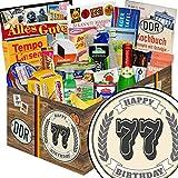 Geschenk zum 77. | DDR Spezialitäten| 77 Geburtstag lustige Geschenke Manner