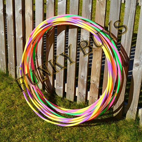 FunkyBuys® 4pk Adults Kids Small Large Hula Hoops