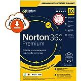 Norton 360 Premium 2021, Antivirus per 10 Dispositivi, Licenza di 1 anno con rinnovo automatico, Sec...