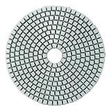 KUNSE 5 Inch 50-6000 Grit Diamond Polier Polster Nasse Trockene Schleifscheibe Für Marmor Beton Granit Glas-800#