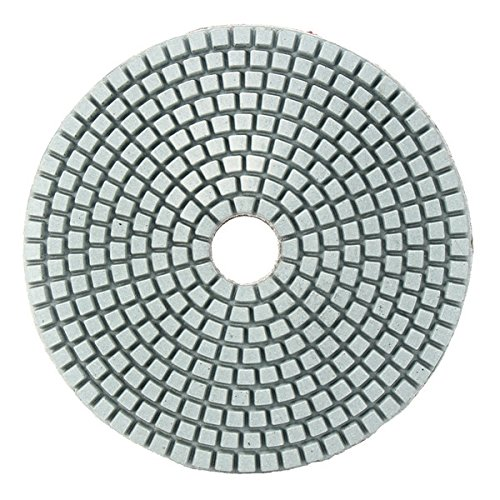 KUNSE 5 Inch 50-6000 Grit Diamond Polier Polster Nasse Trockene Schleifscheibe Für Marmor Beton Granit Glas-1500# (Diamond-grit)