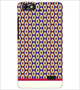 Printdhaba Floral Pattern D-1543 Back Case Cover For Huawei Honor 4C