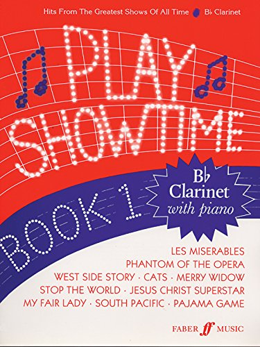 Fred Glover & Roy Stratford: Play Showtime Book 1: For Clarinet & Piano (Faber Edition: Play Showtime)