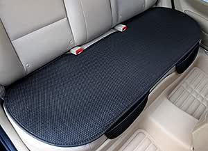 Glitzfas Auto Sitzauflage Autositzauflage Universal Sommer Autositzbezug Auto Vordersitz Rücksitz Kissen Rücksitz Schwarz Auto