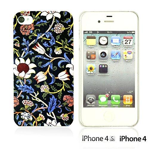 OBiDi - Flower Pattern Hardback Case / Housse pour Apple iPhone 4S / Apple iPhone 4 - Multicolor Floral Shapes Evenlode 2