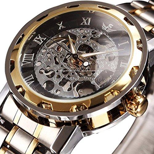 So vedere da uomo in acciaio inossidabile meccanico automatico orologi di lusso classiche