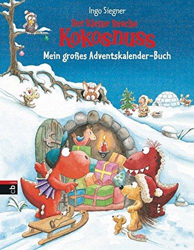 Der kleine Drache Kokosnuss Adventskalender-Buch
